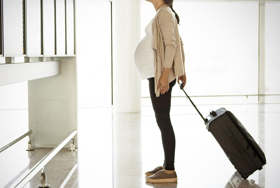 fly in first trimester or not